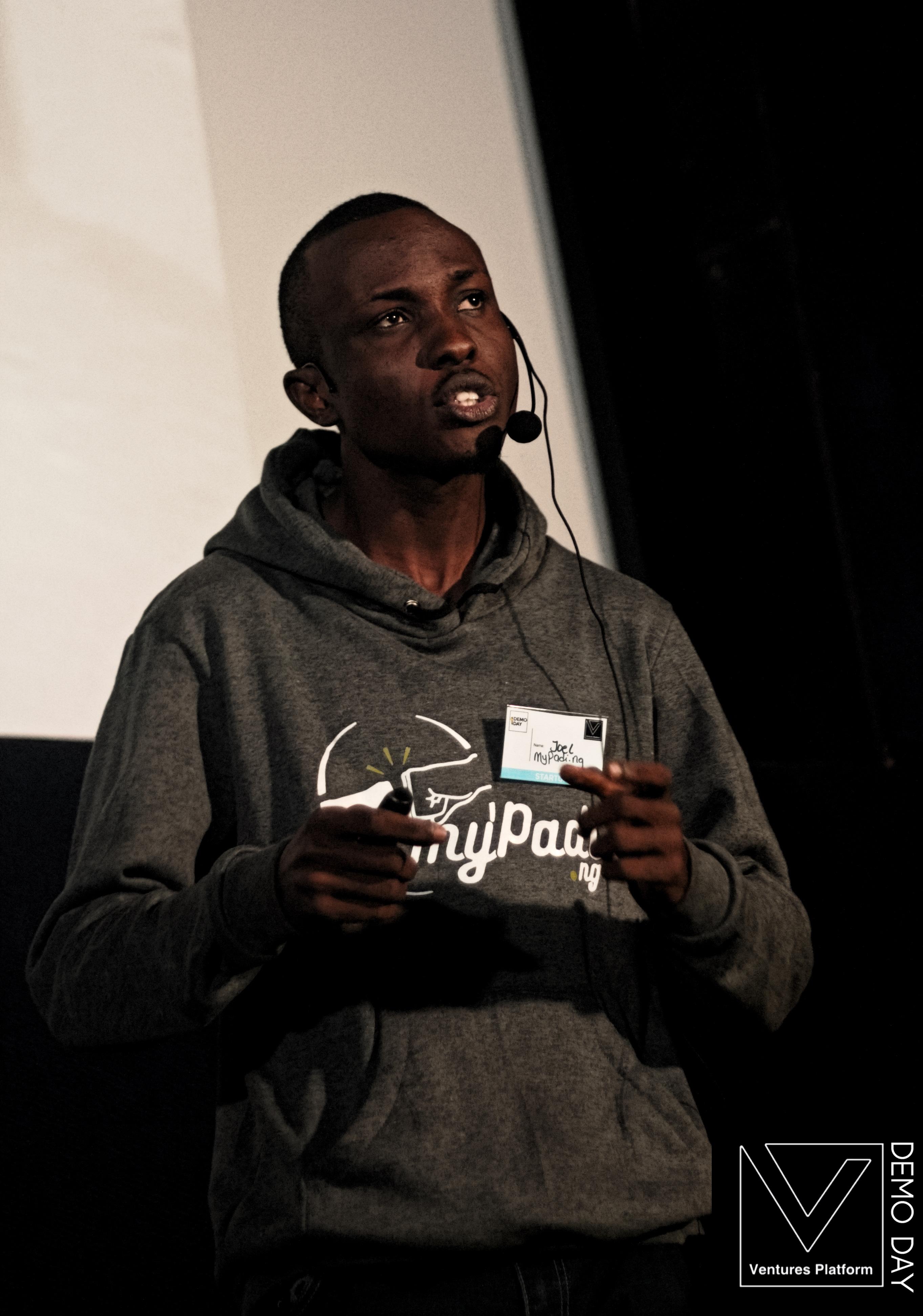 Joel Amawhe - Founder, MyPadi