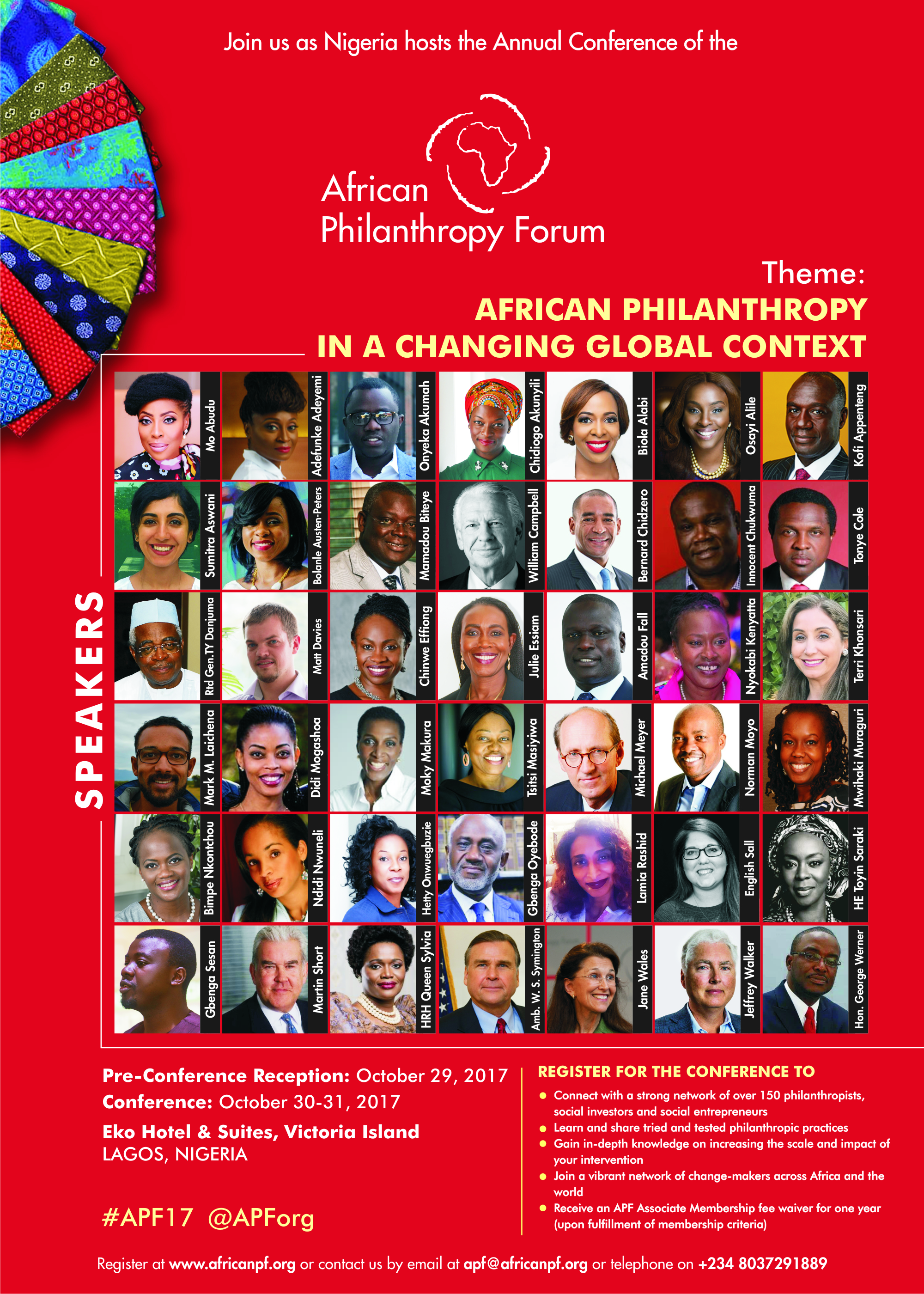 APF Conference Speakers
