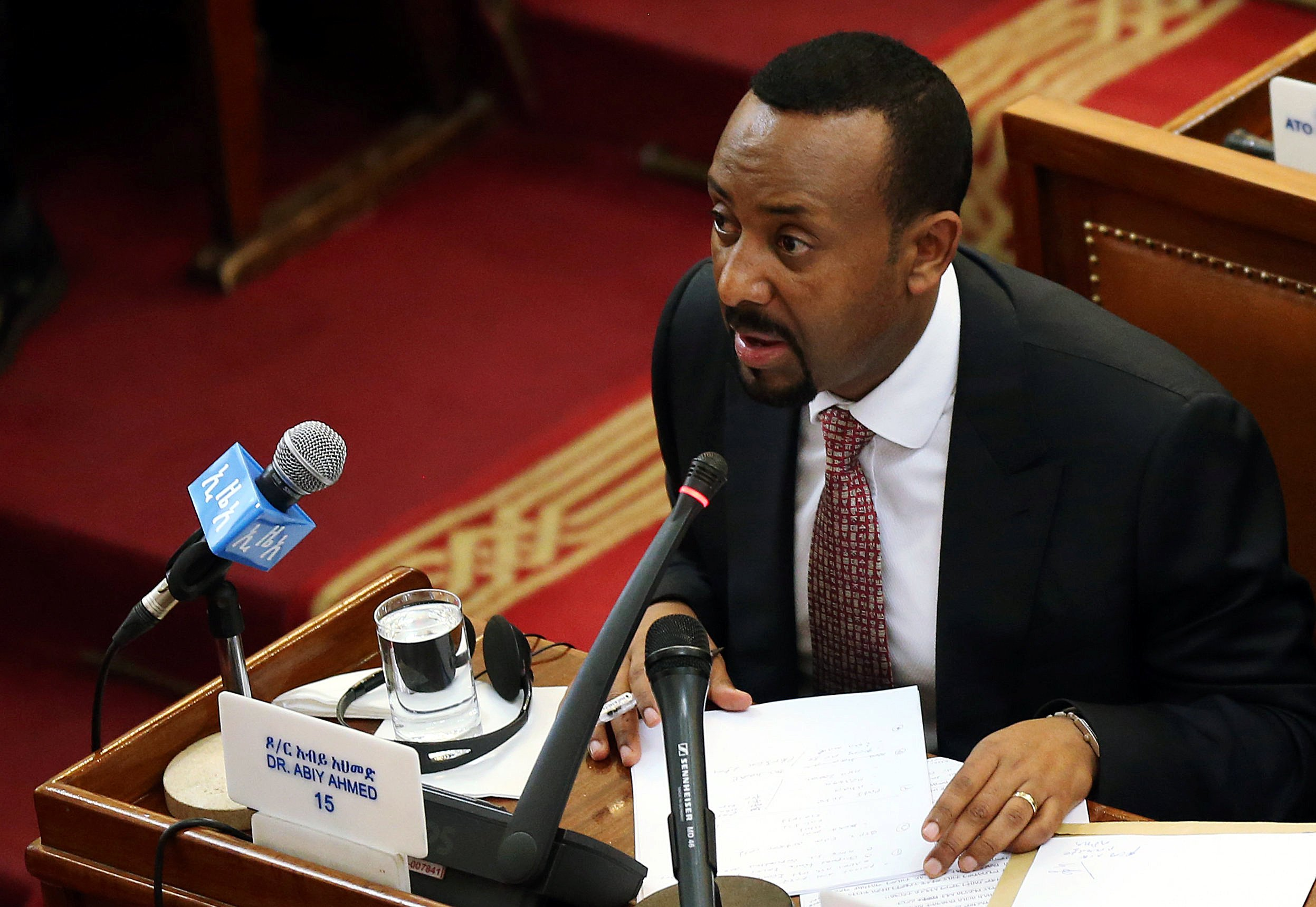 """Abiy Ahmed spearheads reforestation campaign, """"Green legacy"""" in Ethiopia"""