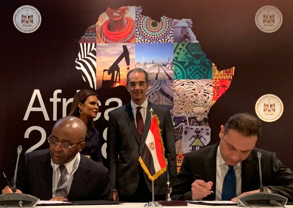 Strive Masiyiwa says data infrastructures are important for intra-African trade as Liquid telecoms signs $400 million agreement with Telecom Egypt