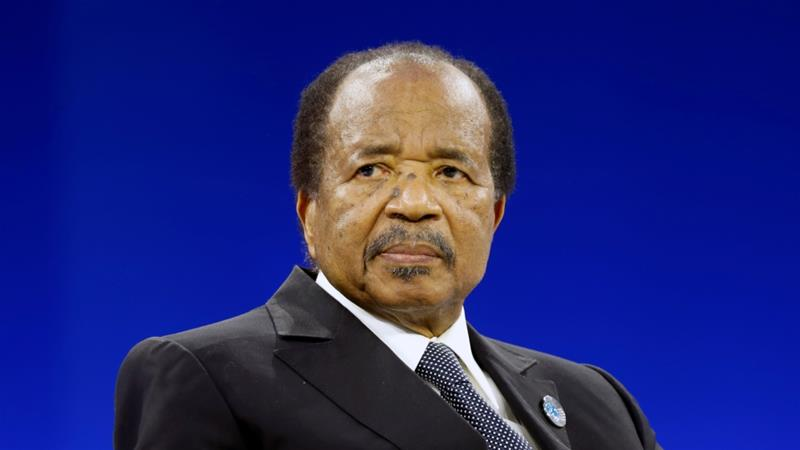 Paul Biya makes first public appearance in two months